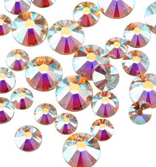 Swarovski Crystal Aurora Borealis 30SS 2.5 Gross pack - Style No RU006