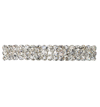Crystal Barrette French Clip Small - Style No RU054