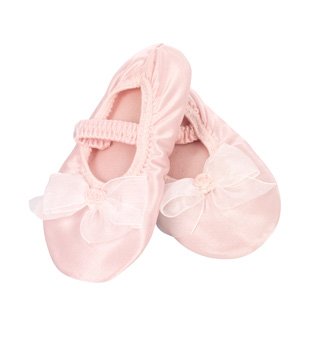 Little Princess Satin Slippers - Style No S200
