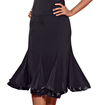 Ladies 8-Panel Banded Skirt - Style No S63
