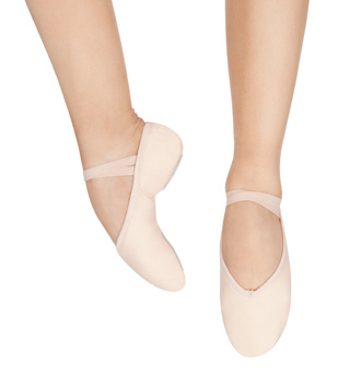 Adult Andante Split Sole Ballet Shoes - Style No SA
