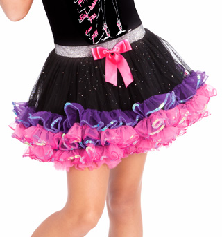 Child Ruffle Trim Tutu - Style No SK778x