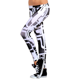 Adult Graphix Leggings - Style No SS7007