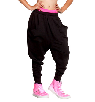 Girls Hollywood Harem Pant with Pockets - Style No SS7040PCx