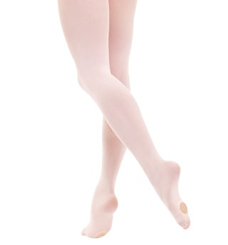 Kids Convertible Dance Tights - Style No T090C