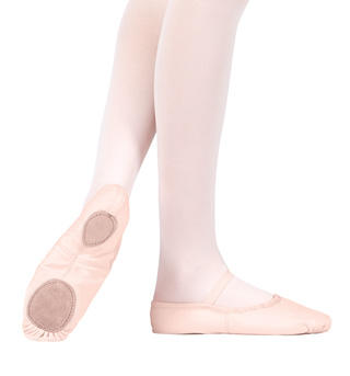 Adult Canvas Split-Sole Ballet Shoes - Style No T2900