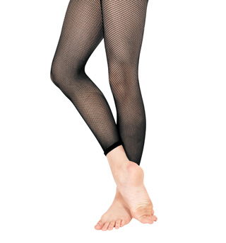 Girls Basic Capri Fishnet Tights - Style No T5800C
