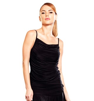 Ruched Spaghetti Strap Top - Style No T70