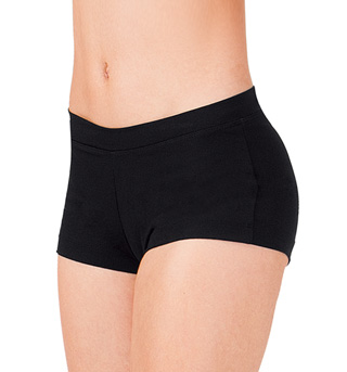 Adult Boy Cut Low Rise Dance Shorts - Style No TB113