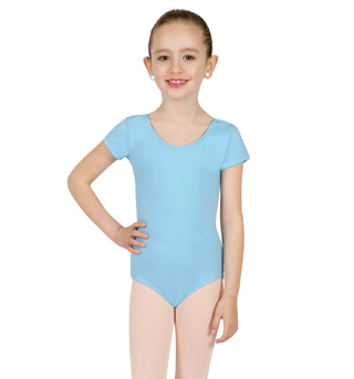 Girls Short Sleeve Leotard - Style No TB132C