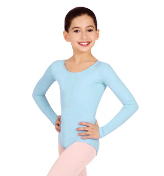 Girls Basic Long Sleeve Leotard - Style No TB134C