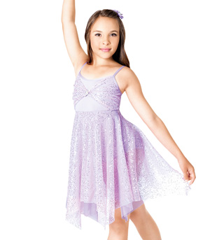 Halo Child Lyrical Dress - Style No TH1030C