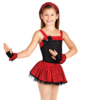 All That Jazz Child Costume Set - Style No TH3010C
