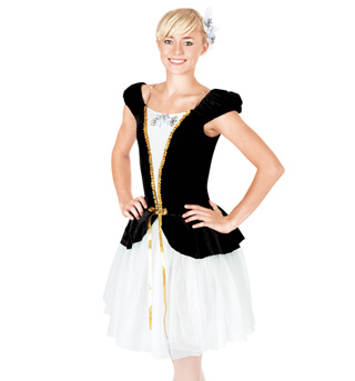 Midnight Serenade Adult Romantic Tutu Dress - Style No TH4005