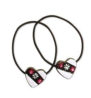 Heart Tap N' Tie Elastic Ties - Style No TNT01x