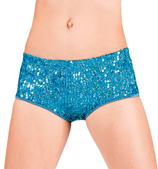 Junior Sequin Hot Dance Shorts - Style No TT009C