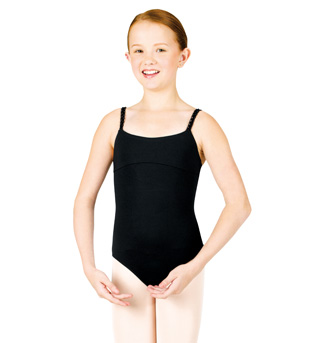 Tween Braided Camisole Leotard - Style No TWL2837