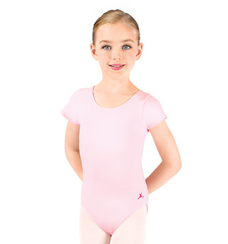 Child and Toddler Future Star Short Sleeve Leotard - Style No U6074CL