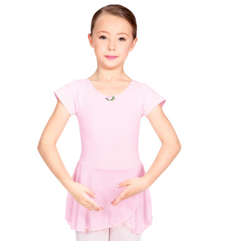 Child Future Star Short Sleeve Dance Dress - Style No U6090CP