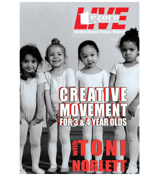 Broadway Dance Center: Creative Movement DVD for 3 & 4 Year Olds - Style No VVTZ12CM