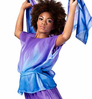 Child Unisex Worship Short Sleeve Tunic - Style No WC102C