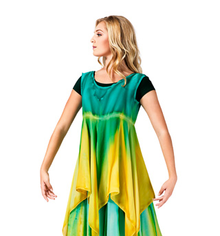 Women's Worship Handkerchief Dress - Style No WC104