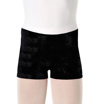 Girls Velvet Dance Short - Style No WM162C