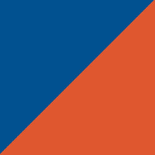 Royal/Orange