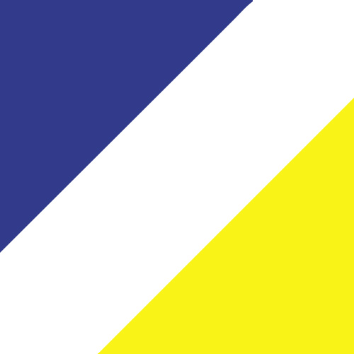 Purple/White/Power Yellow