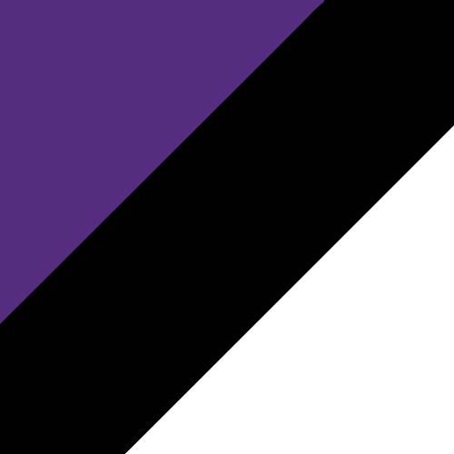 Purple/Black/White