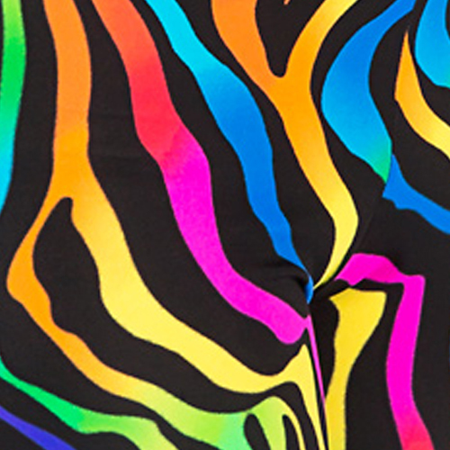 Related Pictures Neon Color Backgrounds Http Www Fanpop Com Clubs Neon ... Multi Colored Zebra Print Wallpapers