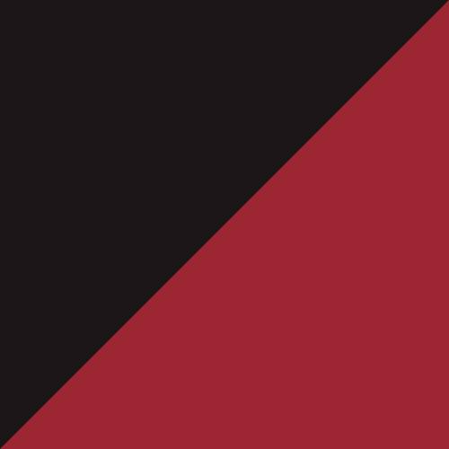 Black/Scarlet