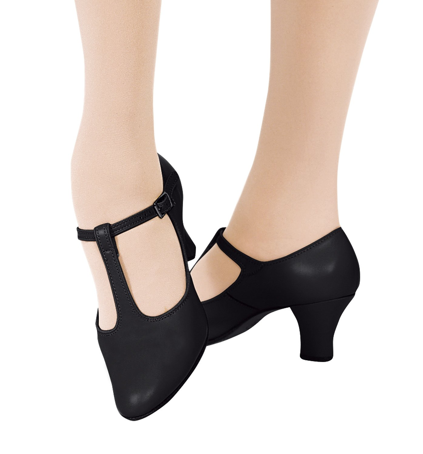 T Strap Character Shoes  Inch Heel