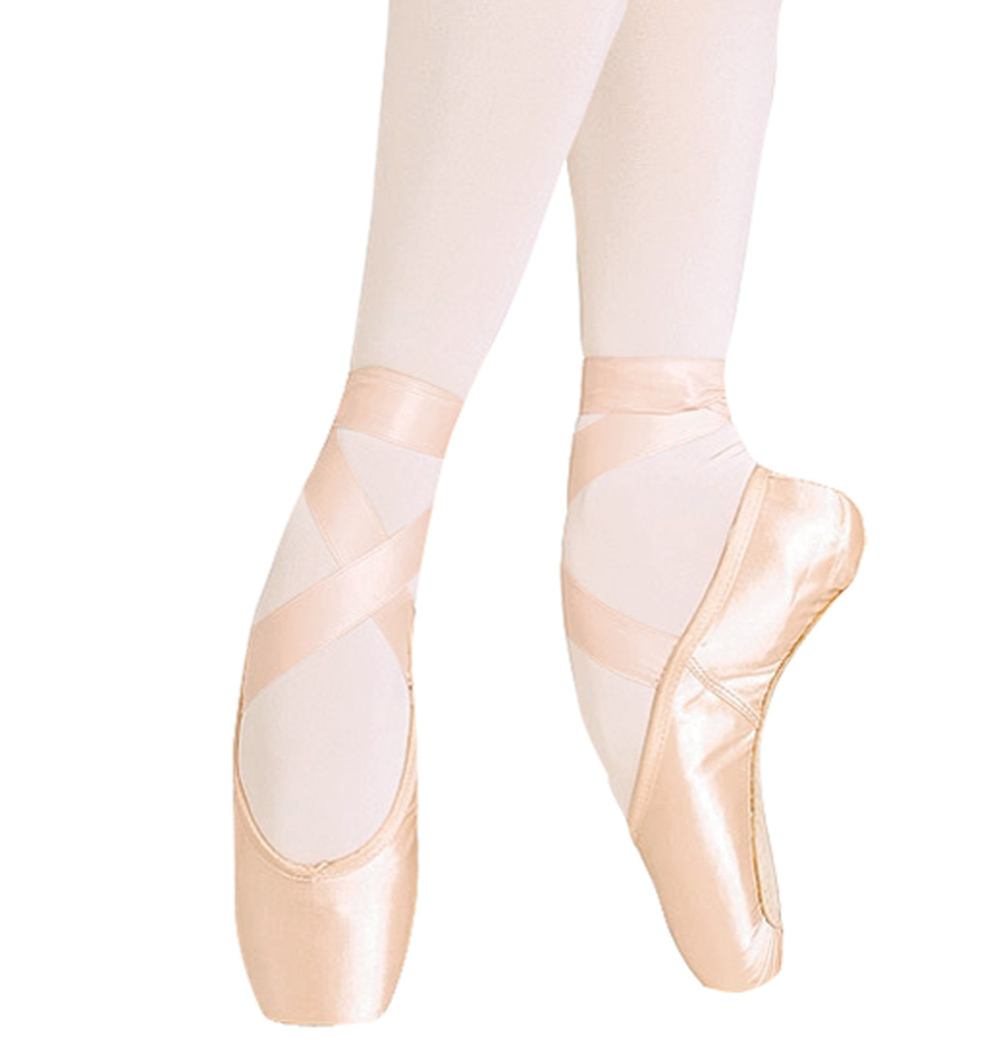 Ballet Style Shoes With Heel