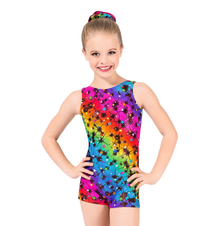 U0026quot;Cosmosu0026quot; Biketard - Gymnastics | DiscountDance.com