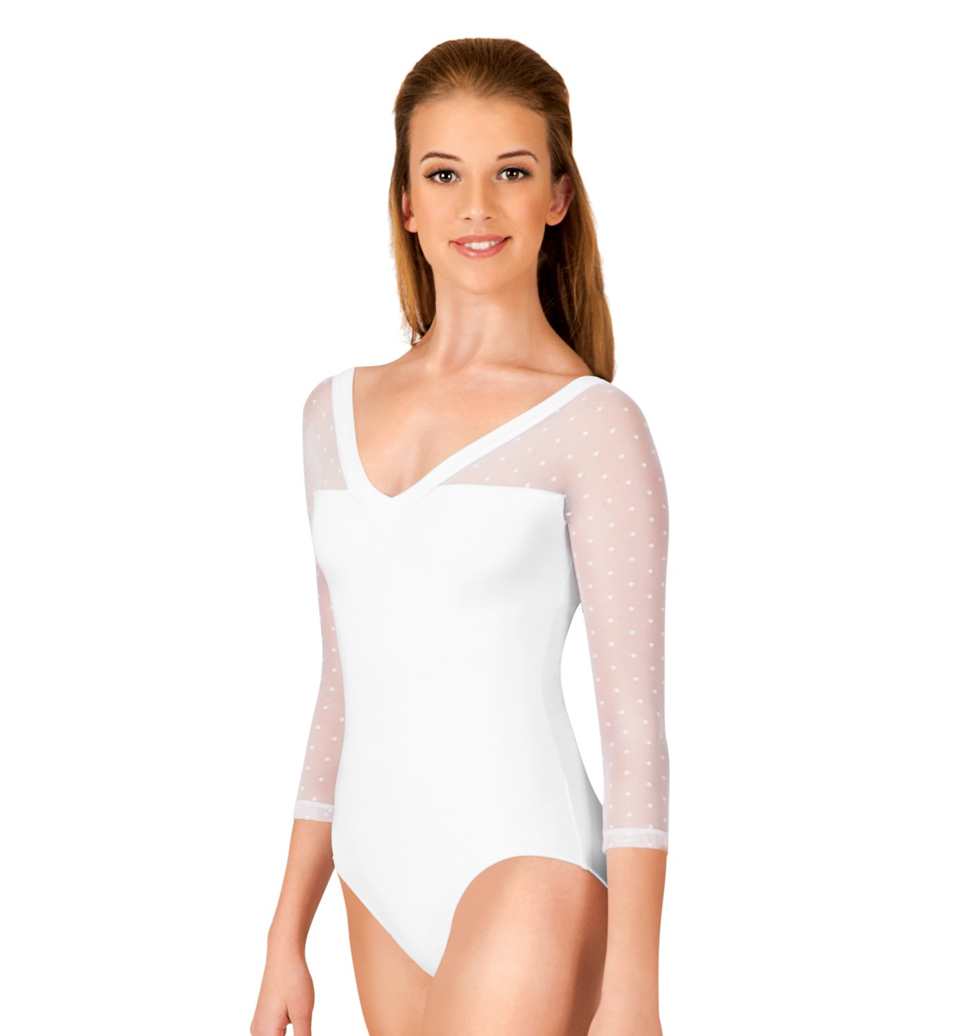 3 4 sleeve leotards adult