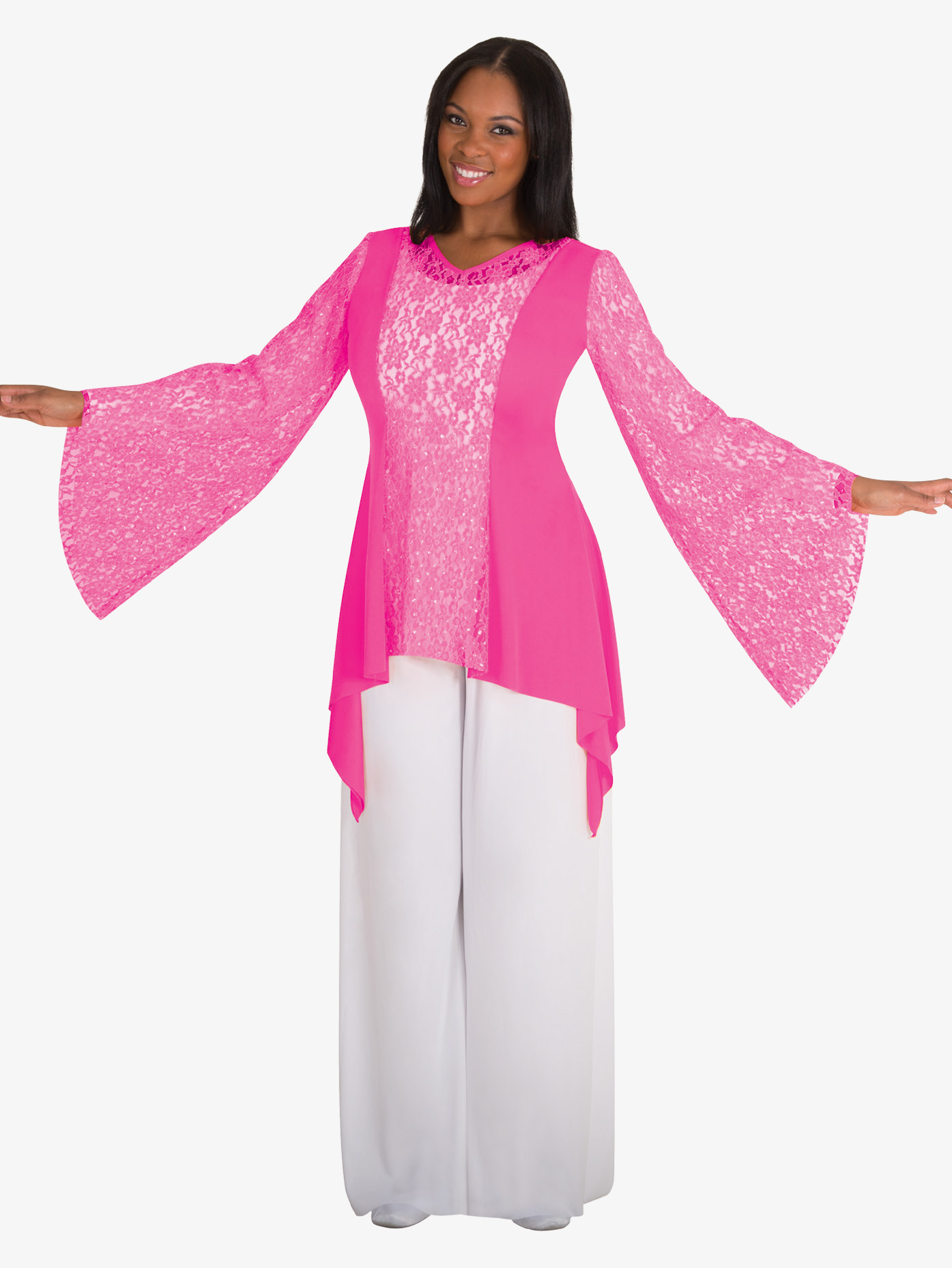 Body Wrappers Girls Worship Palazzo Pants 0565