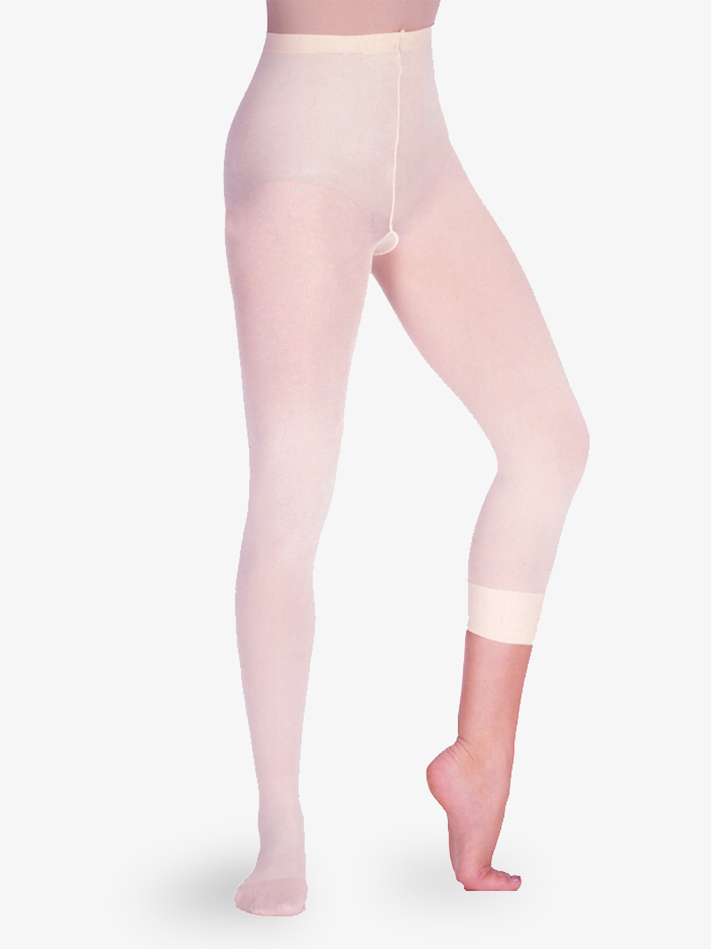Prima Soft Adult/Child Seamed Convertible Tights 100