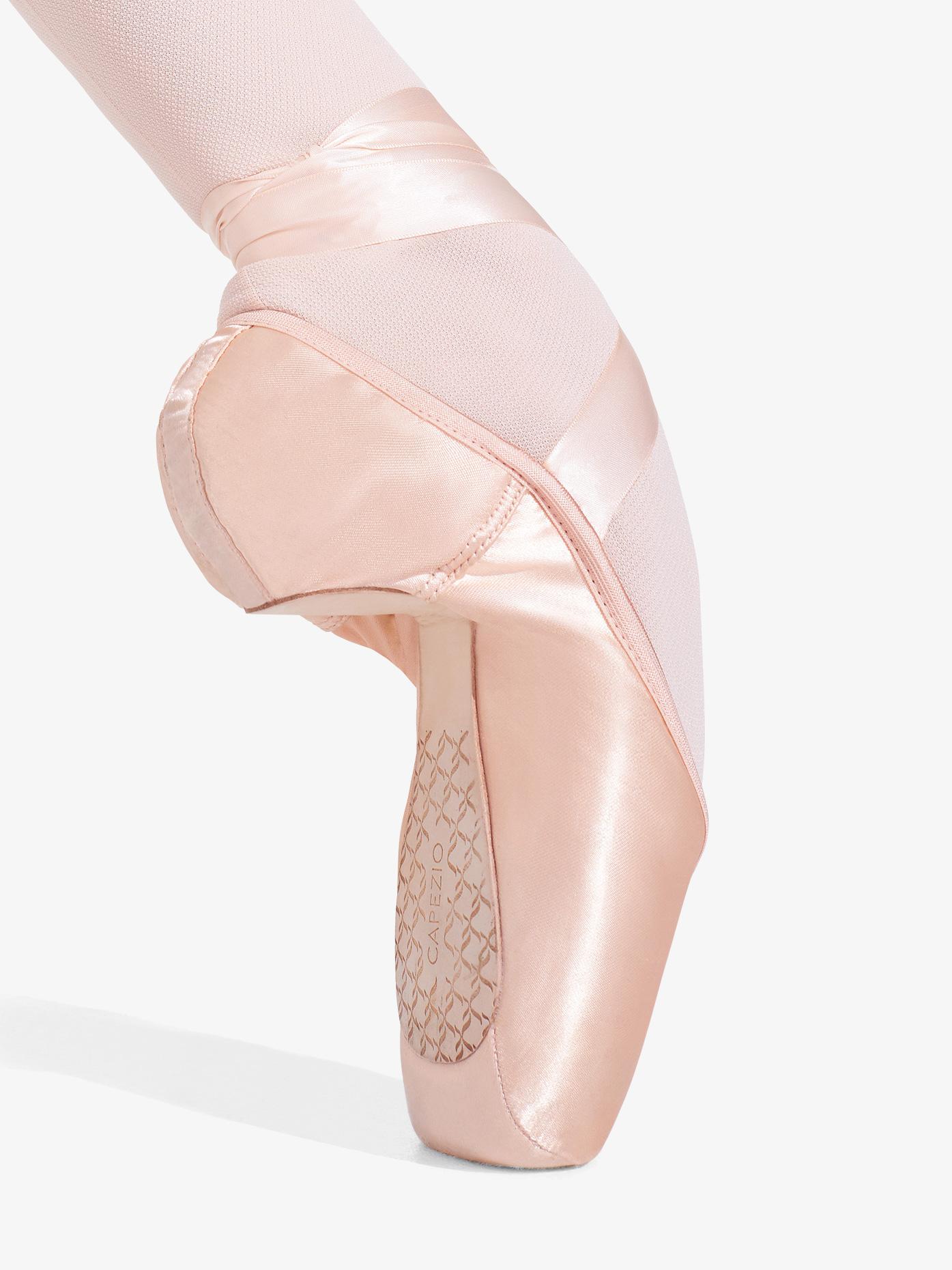 Capezio Womens Cambre Broad Toe #4 Shank Pointe Shoes 1128W