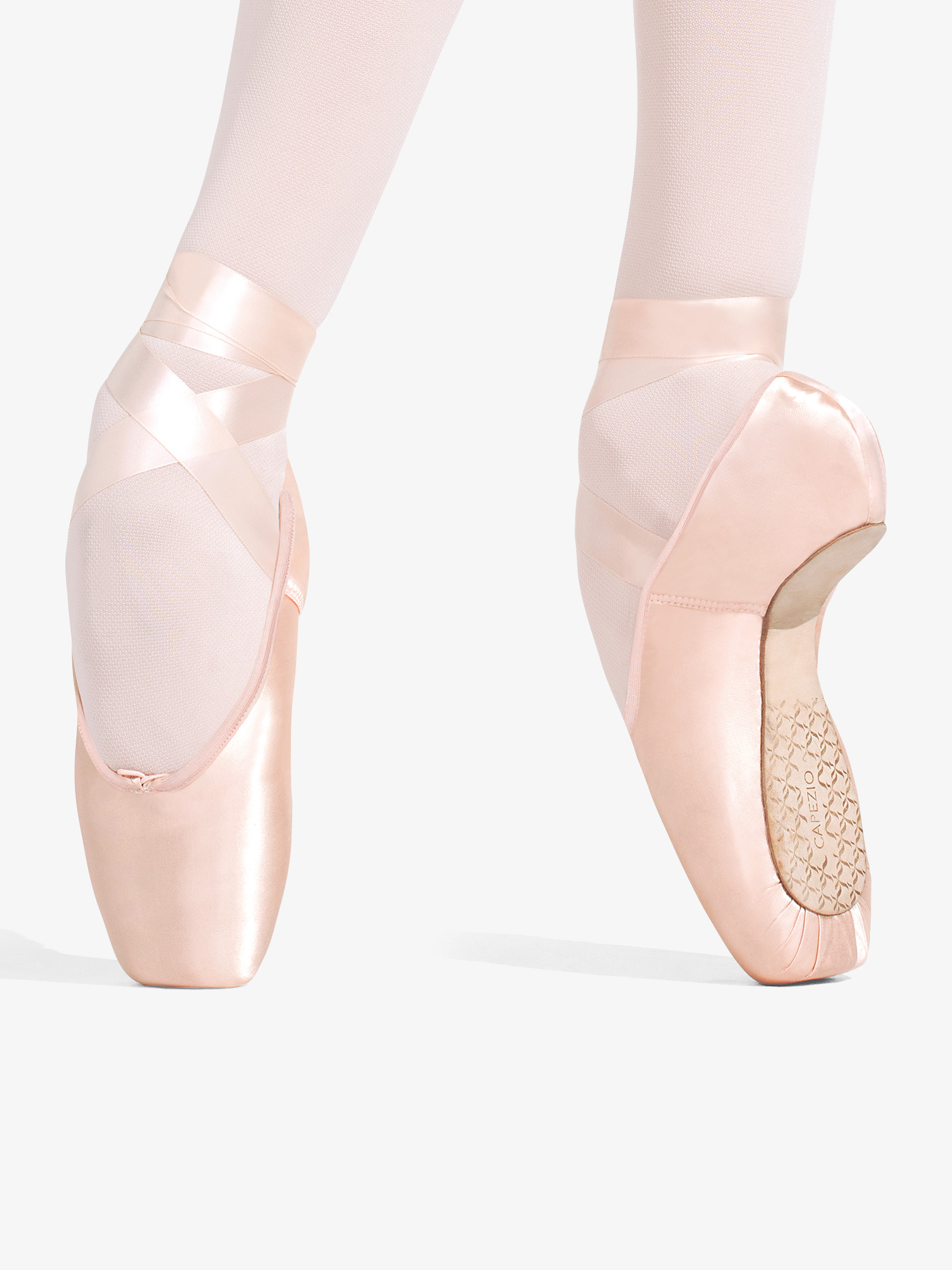 Capezio Womens Developpe #3 Shank Pointe Shoes 1136W