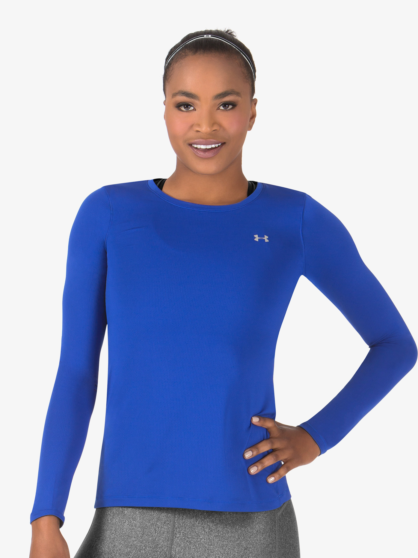 Under Armour Womens Long Sleeve HeatGear Fitness Tee 1285640
