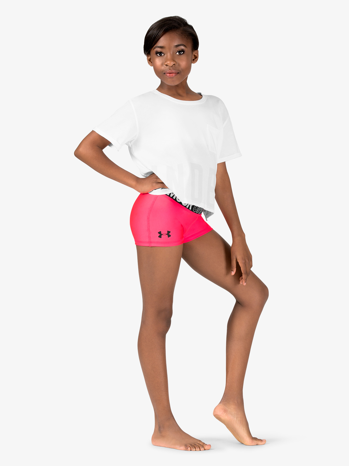 1e54085ffb542 Logo Print Waistband Running Shorts - Shorts