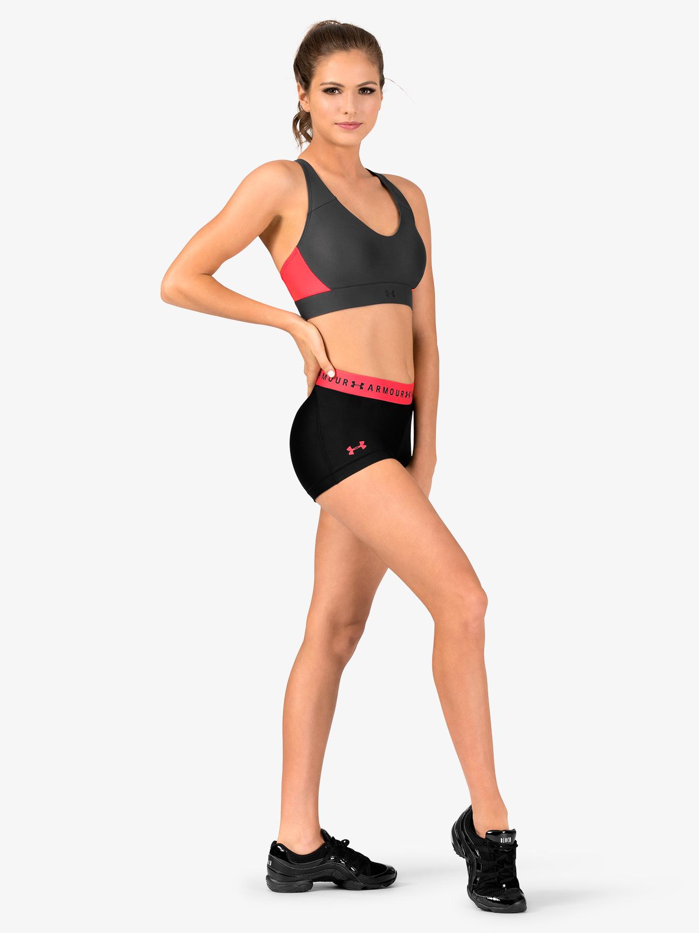 Under Armour Womens HeatGear Armour Running Shorts 1309618