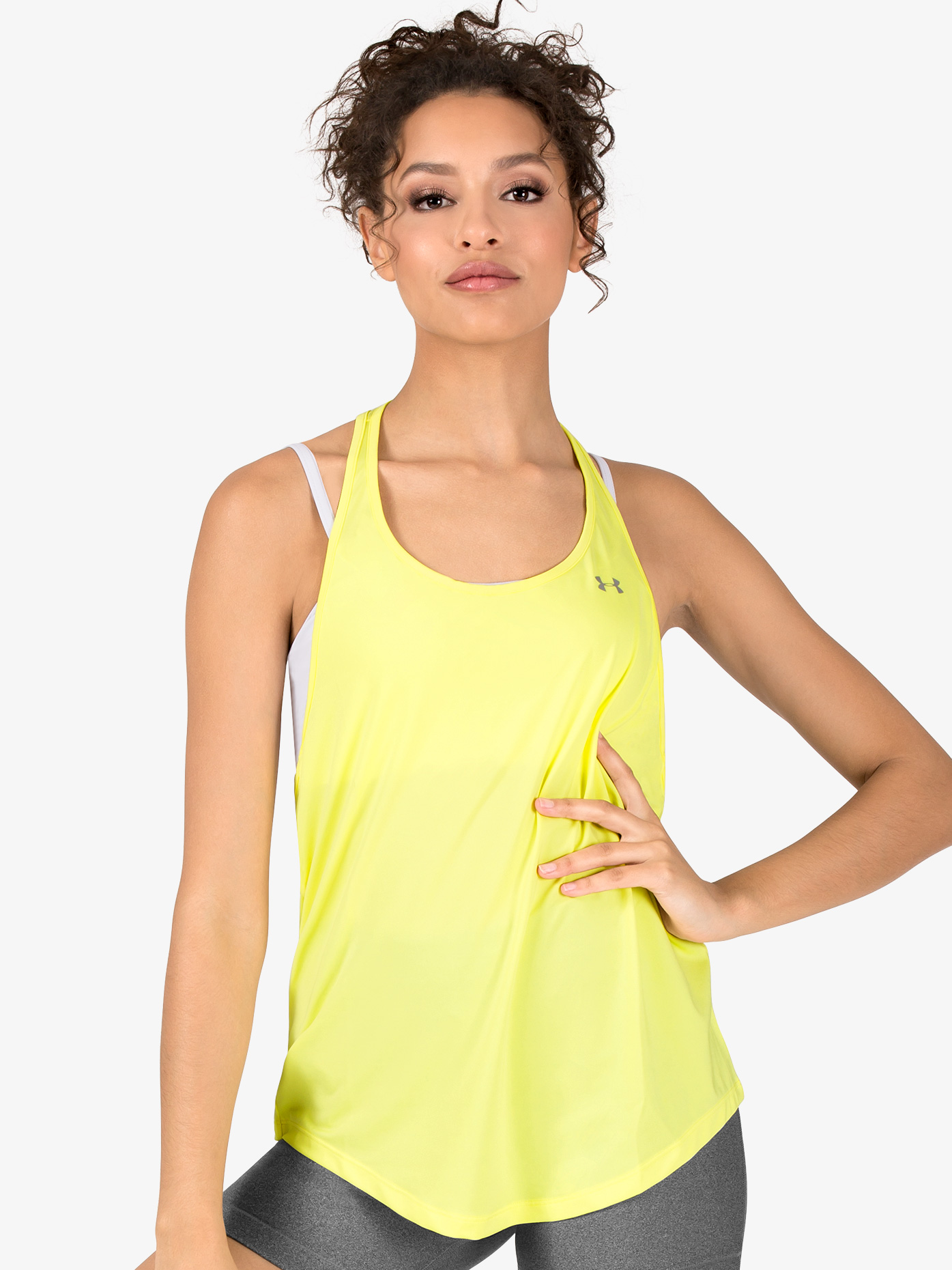 Under Armour Womens Active Mesh Back Tank Top 1316124