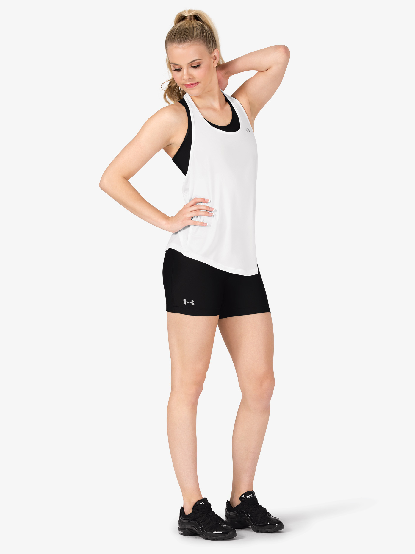 Under Armour Womens HG Armour Compression Athletic Shorts 1316681
