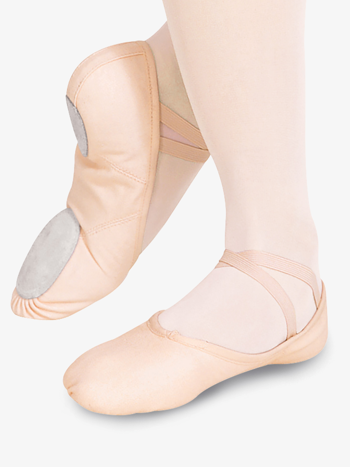 Child or Adult NEW Capezio Balera Pink Split Sole Leather Ballet Shoes Toddler