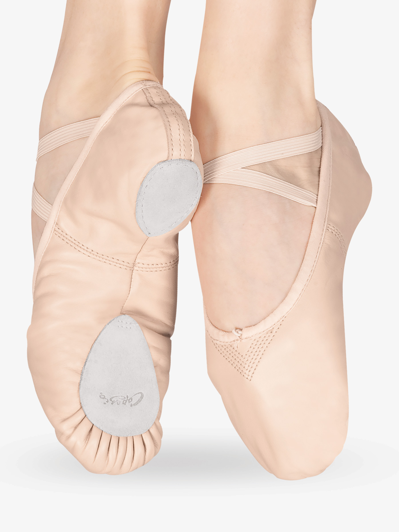 Capezio Adult Cobra Leather Split-Sole Ballet Shoes 2033