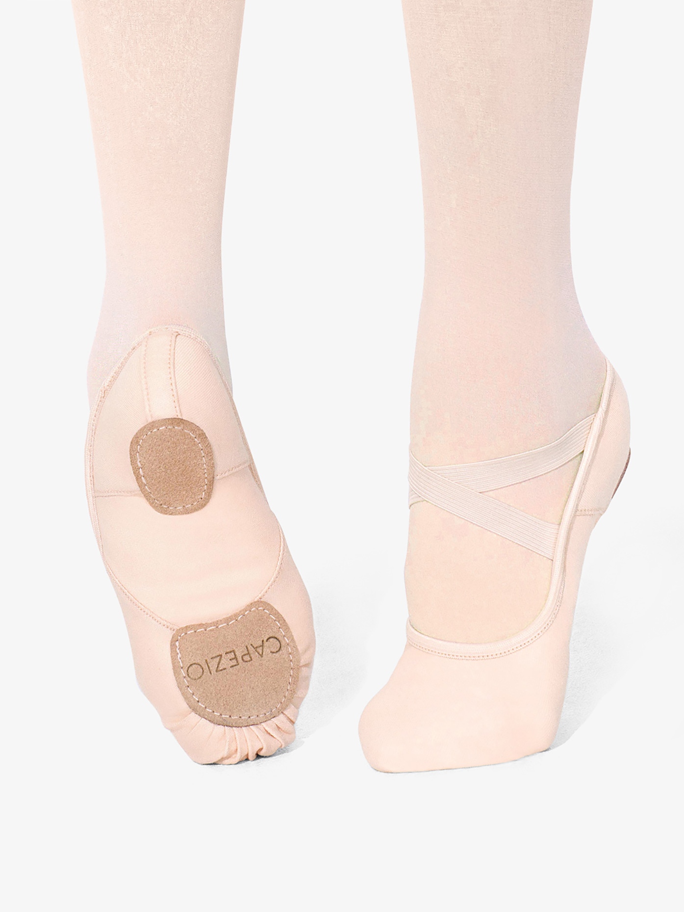 Capezio Girls Hanami Canvas Split Sole Ballet Slipper 2037C