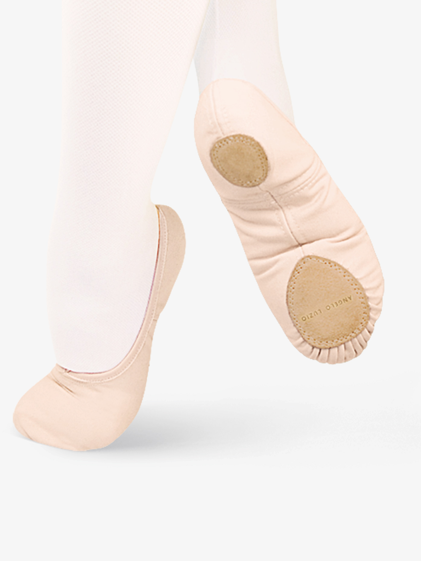 Body Wrappers Adult TotalSTRETCH Canvas Split-Sole Ballet Shoes 246A