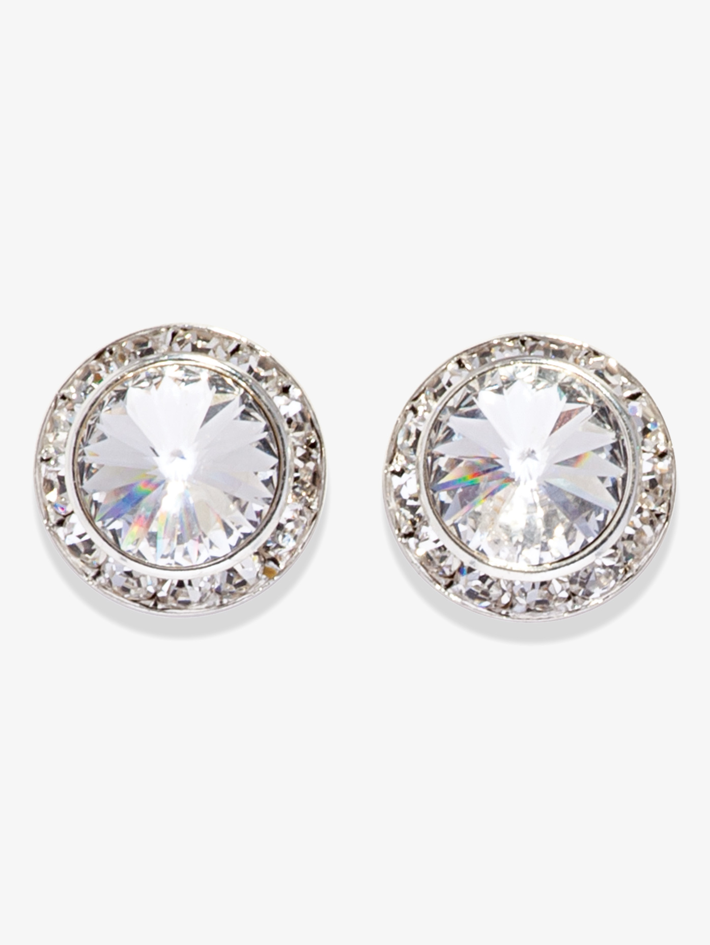 17MM Clip On Swarovski Crystal Earrings - Style No 2710C. Loading zoom 49f038d2b